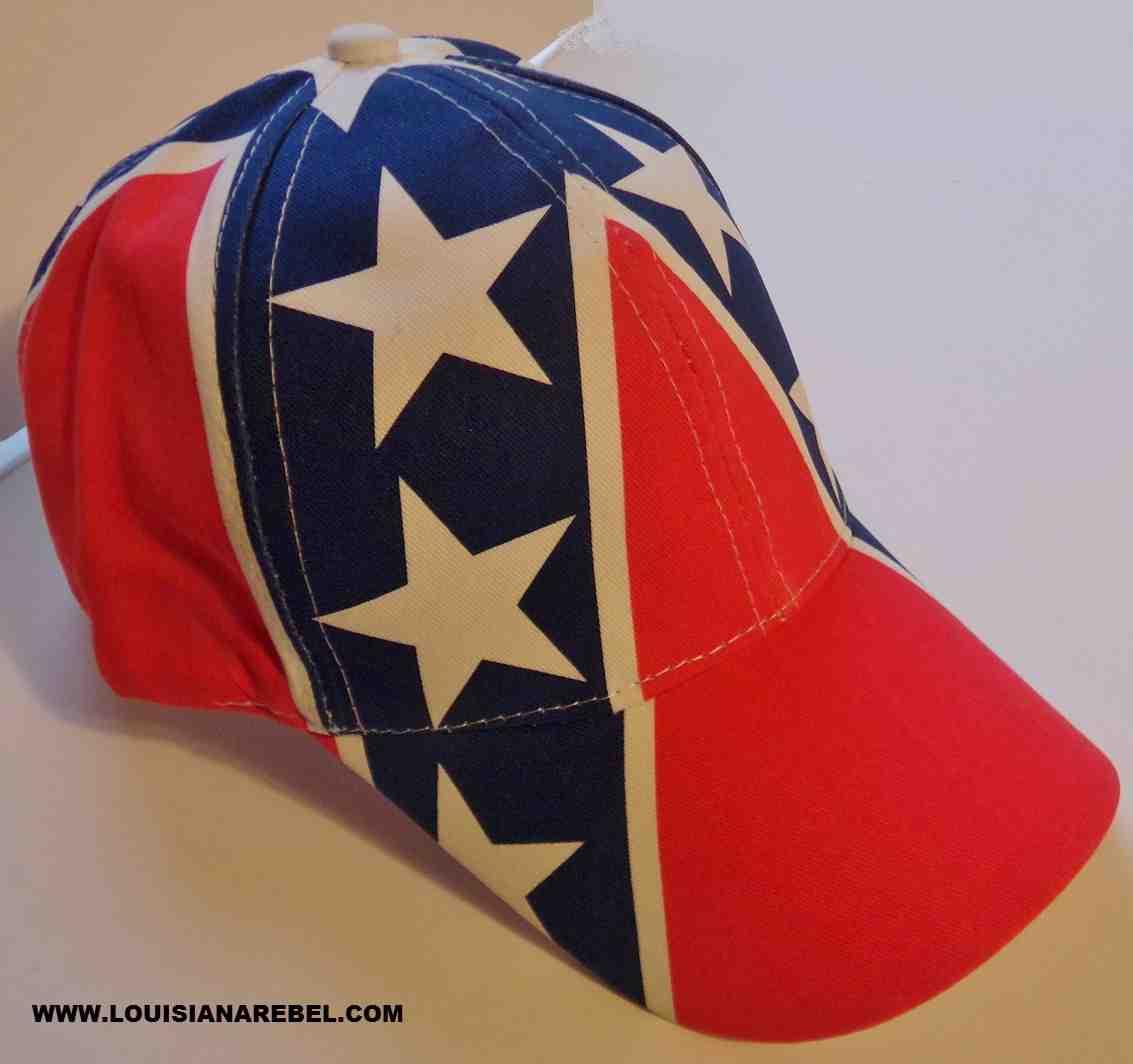 75f6e7490eb2c CONFEDERATE FLAG CAP - HAT - FREE DOMESTIC SHIPPING
