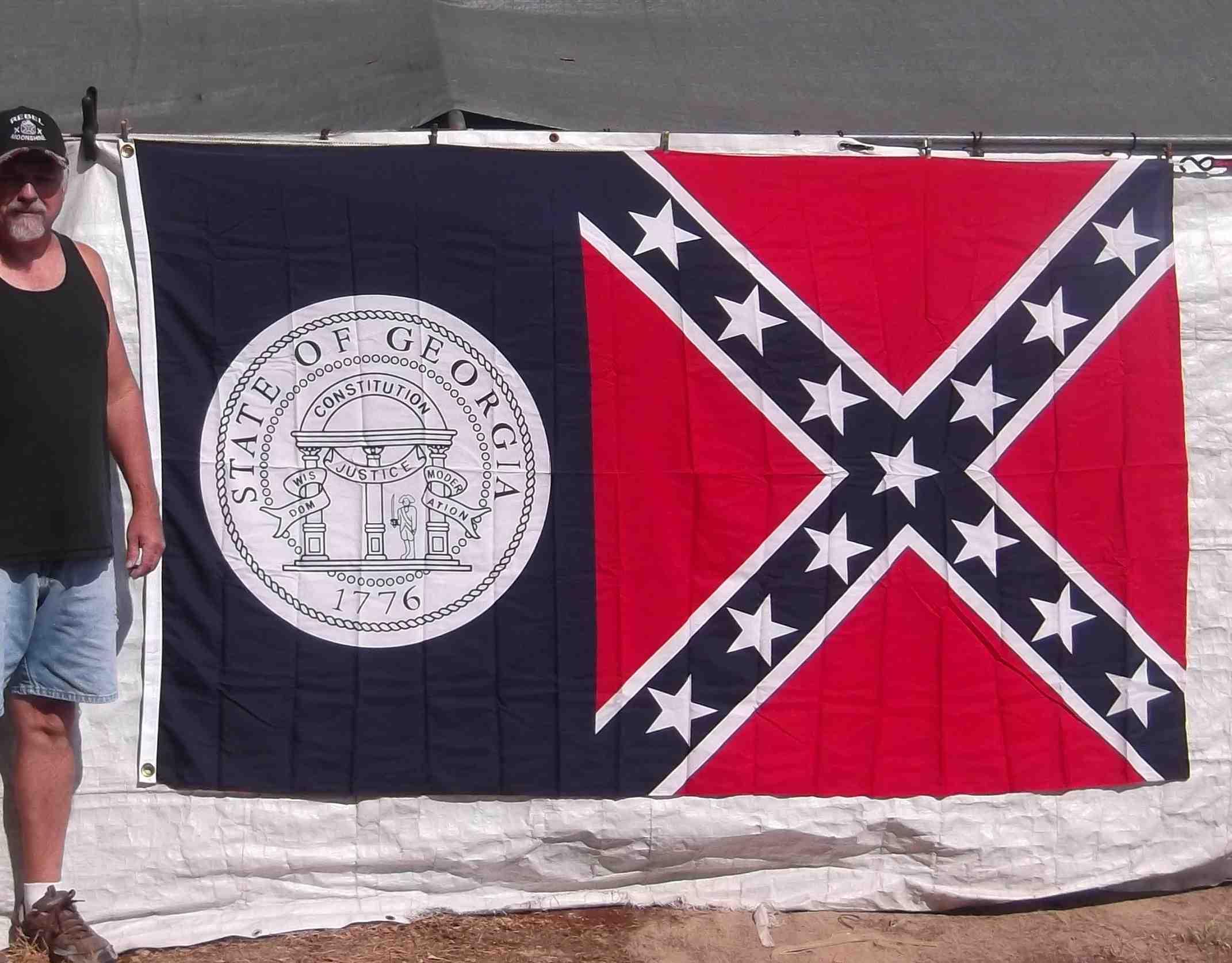 5 X 8 Flags Louisiana Rebel
